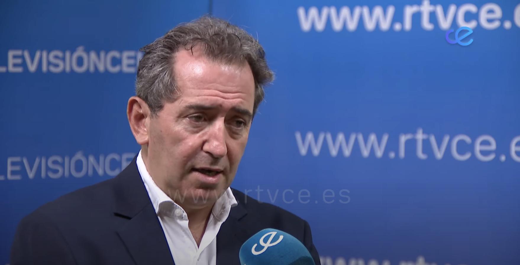 Mario de Miguel acude a RTVCE para hacer balance de la venta de test de antígenos